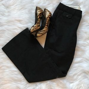 BANANA REPUBLIC Black Ryan Fit Trousers Sz 2